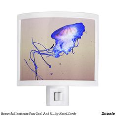 Beautiful Intricate Fun Cool And Unique Jellyfish Night Lites