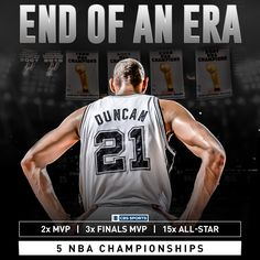 Tim Duncan has called it a career. And what an incredible career it was.