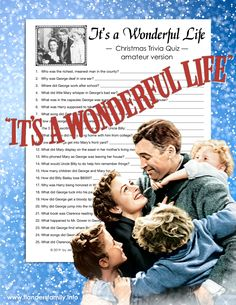 Whether you've watched the movie every Christmas for decades or are seeing it for the very first time, we have an It's a Wonderful Life trivia quiz for you!