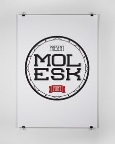 Molesk |  Free Font | Typography