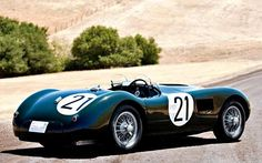 A 1953 Jaguar C-Type