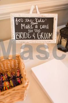 Kids table idea - crayons   paper to make a card for the bride   groom Amber Rhodes Photography #weddings #wedding #marriage #weddingdress #weddinggown #ballgowns #ladies #woman #women #beautifuldress #newlyweds #proposal #shopping #engagement