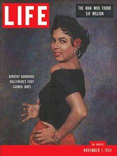 Dorothy Dandridge's groundbreaking Life magazine cover from November 1954.