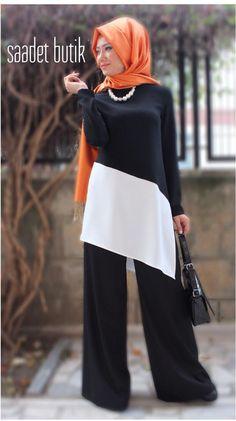 Clothing – ayla – Join the world of pin Modern Hijab Fashion, Muslim Women Fashion, Islamic Fashion, Abaya Fashion, Modest Fashion, Fashion Dresses, Stylish Dress Designs, Stylish Dresses, Moslem Fashion