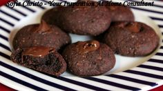 Fudgey Cookies with Natvia by FranticInTheKitchen - Sweeter Life Club