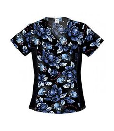 8bde574f601 Cherokee Disney Tooniforms PHBL Women's V-Neck Top at great prices in  various sizes from Work in Style.