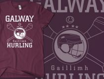 Classic Galway Hurling T-shirt Galway Ireland, World Of Sports, Tee Shirts, Tees, Champion, My Style, Grass, Sleeves, Mens Tops