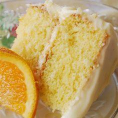 FRESH CALIFORNIA ORANGE CAKE Recipe - Key Ingredient