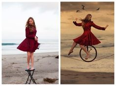 How to Ride A Unicycle on a Tightrope: My Photo Shoot with Brooke Shaden