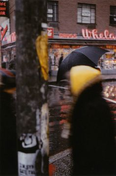 Saul Leiter, Yellow Scarf, 1956