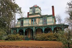 What a cool house! Can't say in my 30 years of going to Athens, Georgia I have ever see that!