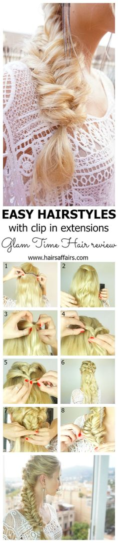 Easy hairstyle with clip in extensions: https://hairsaffairs.com/easy-hairstyles-with-clip-in-hair-extensions/