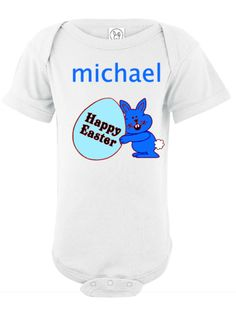 Happy Easter One-Piece Infant & Toddler Bodysuit