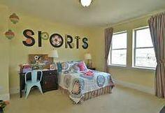 Http Pinterest Com Slfc Sports Themed Girls Bedroom