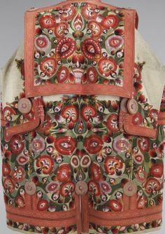 Mantle_details Date: 1840–70 Culture: Hungarian Medium: wool, leather, cotton
