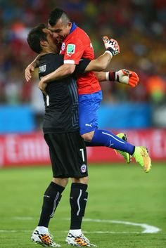 The Very Best of World Cup Man-on-Man PDA So Far - The Cut
