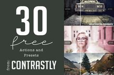 30 Free Actions and Presets from Contrastly