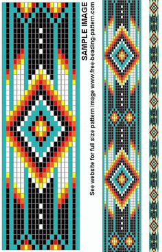 bead weaving patterns for beginners Beading Patterns Free, Seed Bead Patterns, Beaded Jewelry Patterns, Peyote Patterns, Weaving Patterns, Bead Jewelry, Embroidery Patterns, Beading Ideas, Beading Supplies