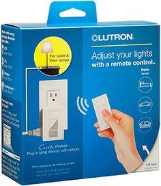 Lutron Caseta Wireless 300 Watt100 Watt Plug In Lamp Dimmer with