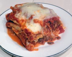 Take a second look! This is not lasagna. This is Cabbage Casserole. Everything in a cabbage roll, deconstructed and reconstructed into layers.