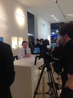 Ed Leese talking about our products @Light_Building on the #FeiloSylvania stand #LB16 (@FeiloSylvania) | Twitter
