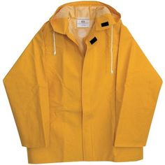 Yellow Rain Coat ///// apparently its in fashion right now... At ridiculous prices.