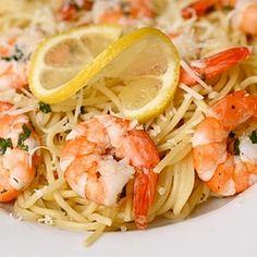 Shrimp Scampi - who can resist a lemony, garlicky, buttery shrimp pasta dish?