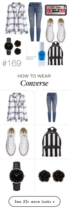 """TBT"" by rabbitzzfashion on Polyvore featuring Casetify, Rails, Levi's, Converse, Givenchy, Color Club, Belk & Co., Topshop, Erica Lyons and 169"