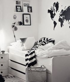 Black and white room ideas black and white room basket and rug from house doctor black . black and white room ideas