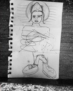 of I collaborated with Hugo (legs) and Sebastian (he scribbled in the middle) and I did the head. It's a genie in the pants! Genie In A Bottle, Days In February, Scribble, Collaboration, Middle, Sketches, Legs, Drawings, Instagram Posts