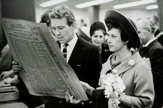 Princess Margaret of snowdon | Princess Margaret and Lord Snowdon at the official opening of the ...