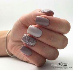 Gel Nails neutral nails unhas neutras - The most beautiful nail designs Elegant Nail Designs, Elegant Nails, Stylish Nails, Trendy Nails, Classy Gel Nails, Neutral Nail Designs, Simple Nails, Cute Acrylic Nails, Acrylic Nail Designs