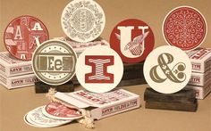 Love Letters Coasters