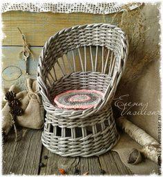 Кукольный дом ручной работы. Ярмарка Мастеров - ручная работа Винтажное кукольное кресло. Handmade.