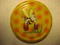 Kallen hunajapurkin kansi