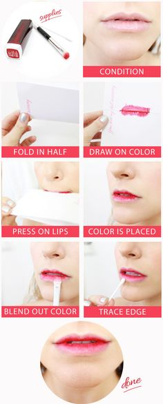 How to: ombré lip tutorial