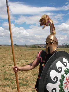 Hoplita Griego Greek Hoplite Guerrero Warrior