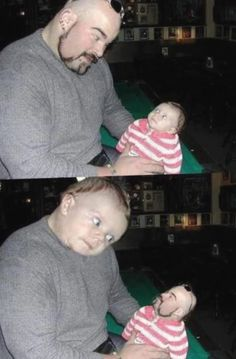 Babyphotos funnyphotos funny memes hilarious funny baby pictures cute babies baby photos funny baby memes funny photos laugh out loud parenting fail our kid s attic playroom update and mini reveal + the five parenting fails mistakes i made Funny Baby Faces, Funny Baby Pictures, Funny Babies, Funny Images, Funny Photos, Baby Photos, Face Pictures, Funny Fail Pics, Funny Celebrity Pics