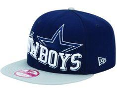 Dallas Cowboys Wave Snapback Cap / Hat New Era. $29.99