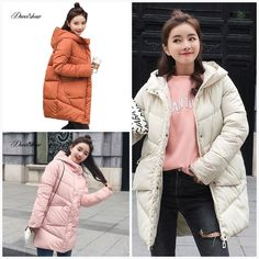 0a7fb590307 Caramel Hooded Elastic Winter Down Coat Jacket Long Warm Women Casaco  Feminino Abrigos Mujer Invierno 2018