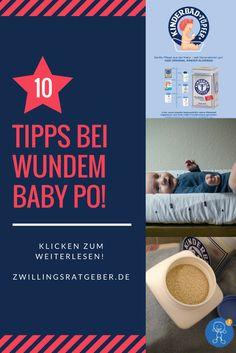 #Töpfer #Kleiebad #Babypflege Wer kennt es nicht? Der Baby Po ist gerötet und nun ist guter Rat teuer. Welche Tipps helfen?