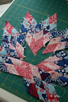 I mentioned here that I made a center block for three different medallion quilts.  Two are Marcelle Medallion blocks from the medallion pattern in the Liberty Love book.  The third was for the design as you go Medallion project we're currently working on with the Utah County Modern Quilt Group.  For that block I decided to make a lone star [...]