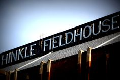 Historic Hinkle Fieldhouse, home of the Butler University Bulldogs