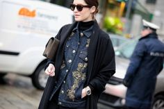 @Lorna Riojas Brine Milan Fashion Week - Fall/Winter 2014-15 #mfw #fashionweek #Streetstyle #mfw2014 #mfw14