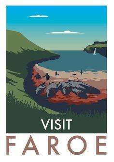 Honest Travel Posters: Wenn Urlaubsplakate wirklich ehrlich wären - Art - bento