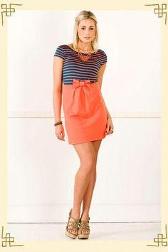 Andi Striped Dress