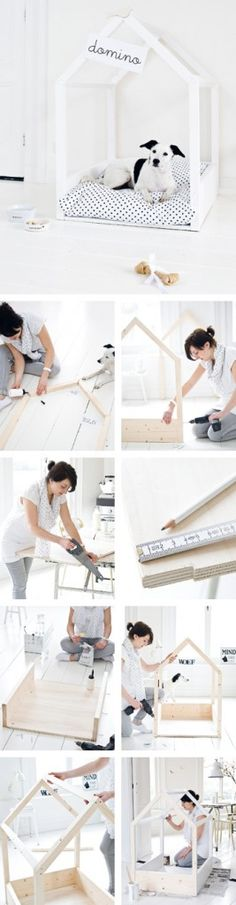 DIY: Indoor hondenhok -