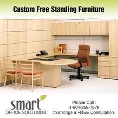 We have a wide selection of Free Standing Furniture and Casegoods from suppliers as broad as Haworth, Steelcase, Knoll, Absolute and Herman Miller. Smart Office, Office Desk, New Furniture, Office Furniture, Herman Miller, Corner Desk, Custom Design, Table, Free