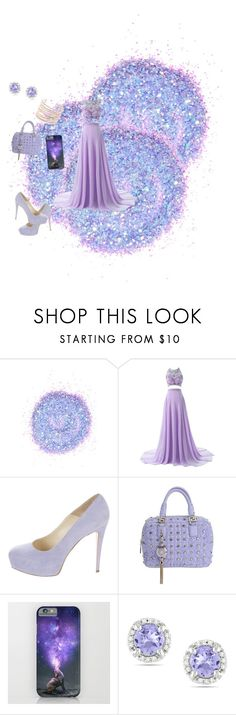 """violet"" by modapamy ❤ liked on Polyvore featuring The Gypsy Shrine, Brian Atwood, Versace, Ice and Alexis Bittar"