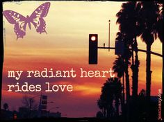 ♥ my radiant heart rides love ♥